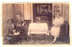 Kasper Josephs mit Gattin ca. 1928